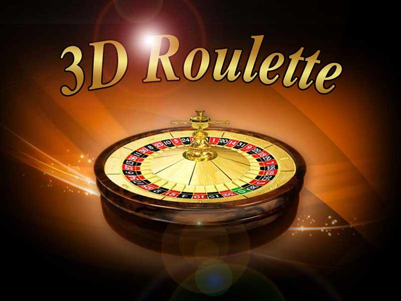 il logo della roulette 3D